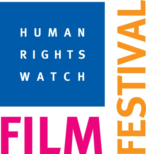 Logo for the Human Rights Film Festival
